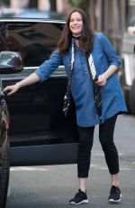 Pregnant LIV TYLER Out and About in New York 05/21/2016