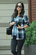 Pregnant MEGAN FOX Leaves Cafe Gratitude in Venice Beach 05/16/2016