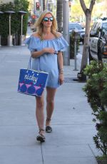 Pregnant NICKY HILTON Out and About in Beverly Hills 05/12/2016