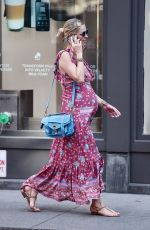 Pregnant NICKY HILTON Out in Soho 05/20/2016