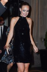 Pregnant OLIVIA WILDE Leaves Met Gala After-party in New York 05/02/2016