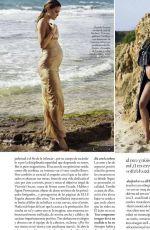 Pregnatn BAR REFAELI in Elle Magazine, Spain June 2016 Issue