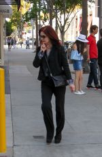 PRISCILLA PRESLEY Out and About in Beverly Hills 05/10/2016