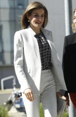 QUEEN LETIZIA at Research Institute of Food Science at University in Madrid 05/03/2016