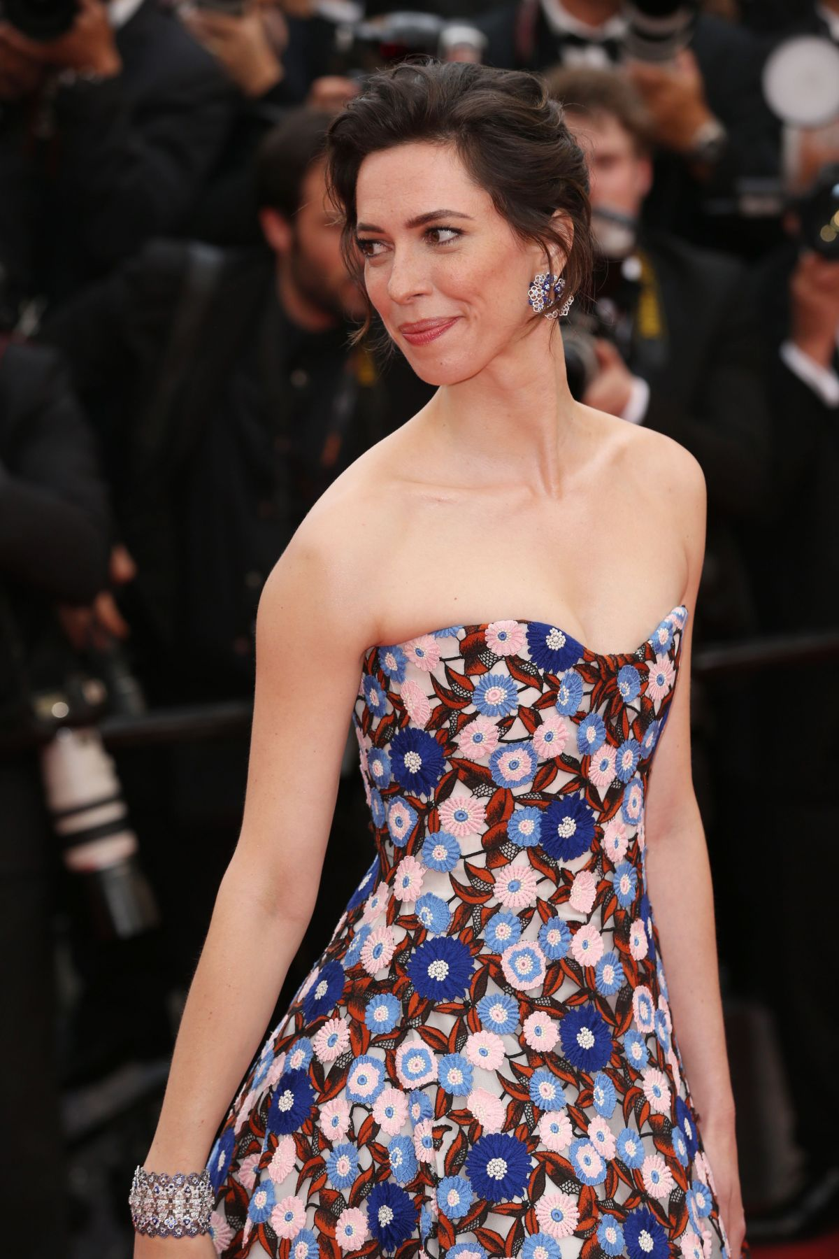 REBECCA HALL at The BFG Premiere at 69th Annual Cannes ...