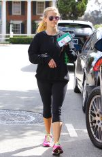 REESE WITHERSPOON in Leggings Out in Brentwood 05/21/2016