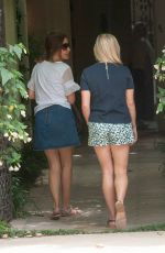 REESE WITHERSPOON in Shorts Out and About in Malibu 05/30/2016