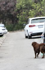 REESE WITHERSPOON Out With Her Dogs in Los Angeles 05/28/2016
