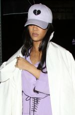 RIHANNA at Nice Guy in West Hollywood 05/11/2016
