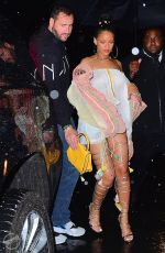 RIHANNA Night Out in New York 05/31/2016