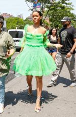 RIHANNA Out and About in New York 05/26/2016