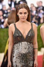 RILEY KEOUGH  at Costume Institute Gala 2016 in New York 05/02/2016