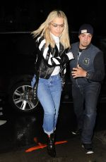 RITA ORA Arrives at Carlyle Hotel in New York 04/30/2016