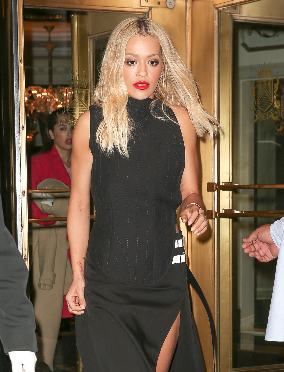 RITA ORA at Carlyle Hotel in New York 05/03/2016