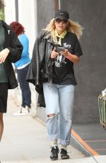 RITA ORA Out and About in West Hollywood 05/16/2016
