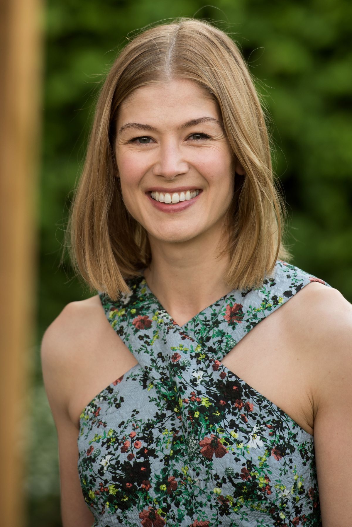 ROSAMUND PIKE at Chelsea Flower Show in London 05/23/2016 - HawtCelebs