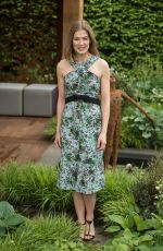 ROSAMUND PIKE at Chelsea Flower Show in London 05/23/2016
