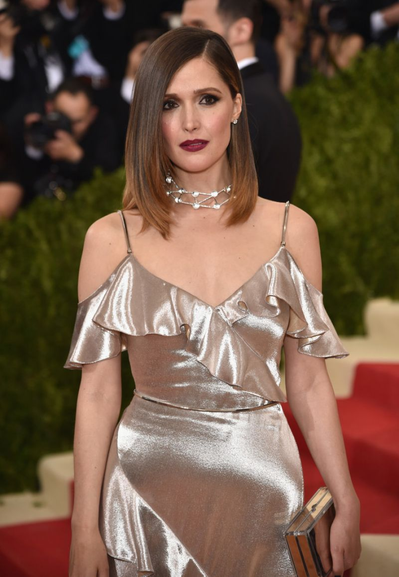 ROSE BYRNE at Costume Institute Gala 2016 in New York 05/02/2016