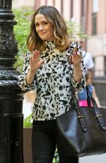 ROSE BYRNE Leaves Her Hotel in New York 05/20/2016