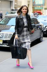 ROSE BYRNE Out and About in Manhattan 05/18/2016