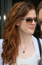 ROSE LESLIE at BBC Radio 2 Studios in London 05/13/2016