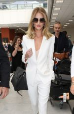 ROSIE HUNTINGTON-WHITELEY at Nice Airport 05/18/2016