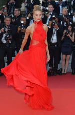 ROSIE HUNTINGTON-WHITELEY at 'The Unknown Girl' Premiere at 69th Annual Cannes Film Festival 05/18/2016