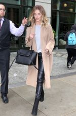 ROSIE HUNTINGTON-WHITELEY Out in New York 05/01/2016