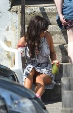 ROXANNE PALLETT on the Set of Her New Movie in Manchester 05/09/2016