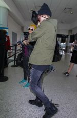 RUBY ROSE at LAX Airport in Los Angeles 05/13/2016