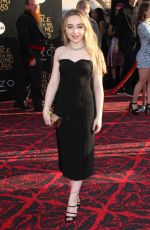 SABRINA CARPENTER at Alice Through the Looking Glass Premiere in Hollywood 05/23/2016