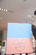 SABRINA CARPENTER at Disney Art Academy Event