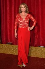 SALLY ANN MATTHEWS at British Soap Awards 2016 in London 05/28/2016