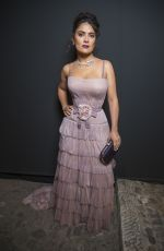 SALMA HAYEK at Women in Motion Dinner at Cannes Film Festival 05/15/2016