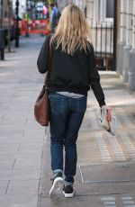 SARA COX Leaves BBC Radio Two Studios in London 05/13/2016