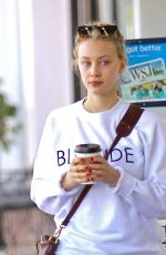 SARAH GADON Out in Los Angeles 05/02/2016