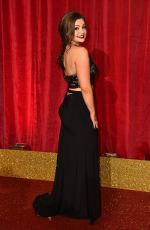SARAH GEORGE at British Soap Awards 2016 in London 05/28/2016