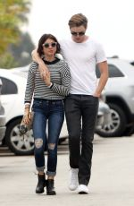 SARAH HYLAND Out and About in Studio City 05/19/2016