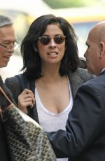 SARAH SILVERMAN Arrives at ABC Studios in New York 05/26/2016