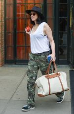 SARAH SILVERMAN Leaves Her Hotel in New York 05/26/2016