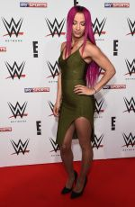 SASHA BANKS at WWE Auperstars VIP Pre-show Party in London 04/18/2016
