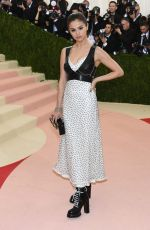 SELENA GOMEZ at Costume Institute Gala 2016 in New York 05/02/2016