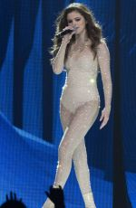 SELENA GOMEZ Performs at Revival World Tour in Calgary 05/17/2016