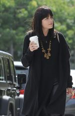 SELMA BLAIR Out and About in Los Angeles 05/21/2016