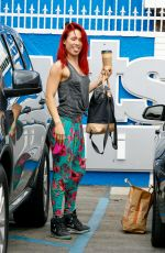 SHARNA BURGESS at DWTS Rehersal in Hollywood 05/06/2016