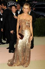 SIENNA MILLER at Costume Institute Gala 2016 in New York 05/02/2016