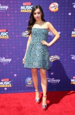 SOFIA CARSON at 2016 Radio Disney Music Awards in Los Angeles 04/30/2016
