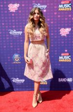 SOFIA REYES at 2016 Radio Disney Music Awards in Los Angeles 04/30/2016