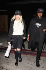 SOFIA RICHIE at Nice Guy in West Hollywood 05/09/2016