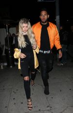 SOFIA RICHIE at Nice Guy in West Hollywood 05/19/2016